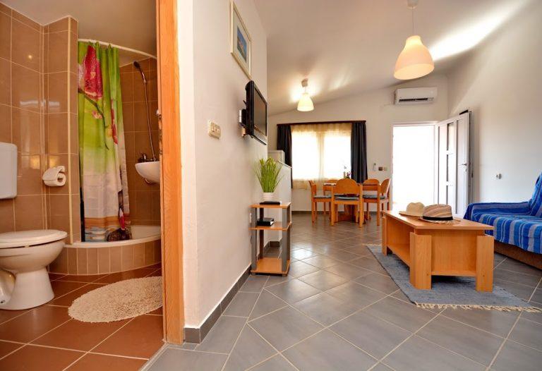 Iznajmljivanje apartmana Otok Vir